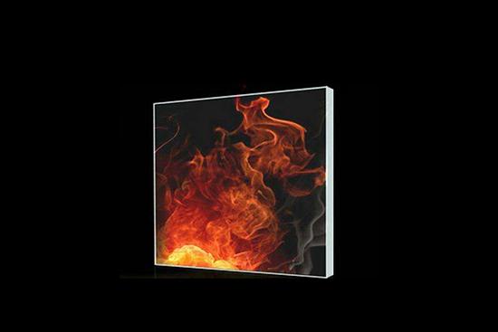 壁炉玻璃的热加工性质